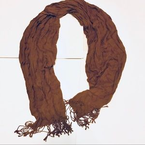 Brown *Not Authentic* Pashmina Scarf